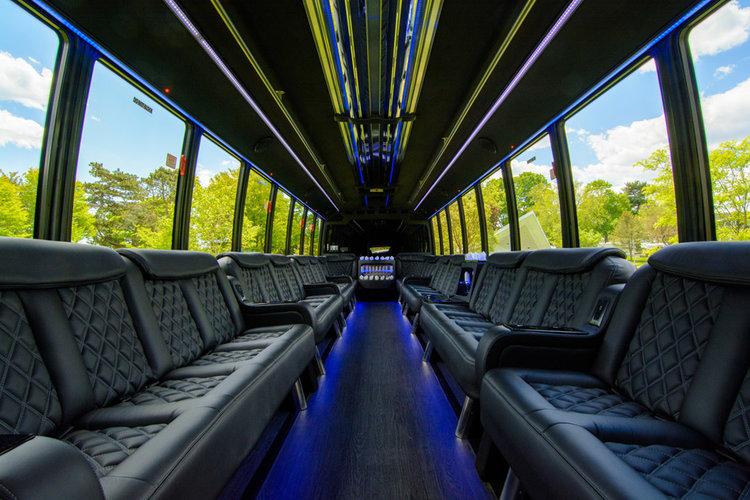 Limo Bus Interior