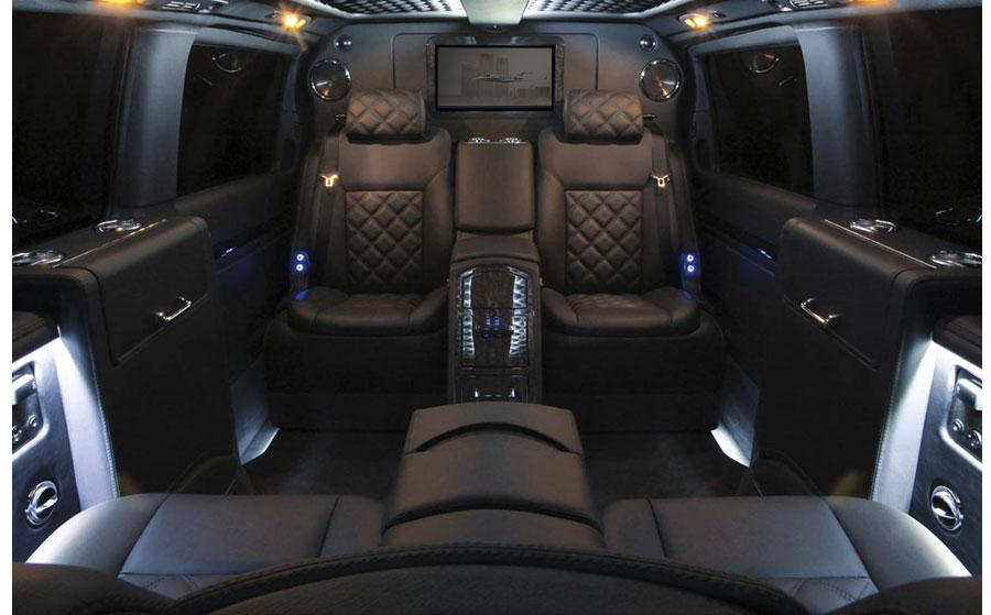 Mercedes-Benz Sprinter Van Interior