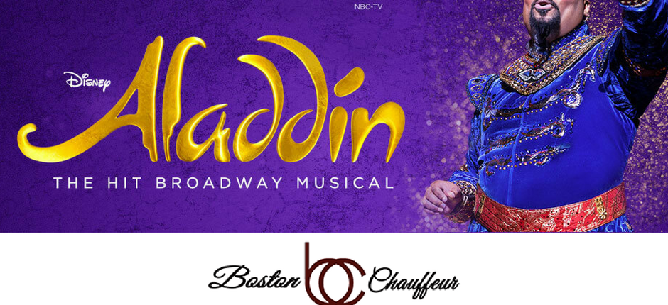 15% off Boston Limo to Aladdin show through August 4, 2018