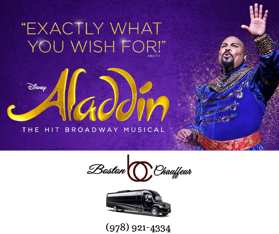 Better Than a Magic Carpet Ride - Book Your Aladdin Limo Ride