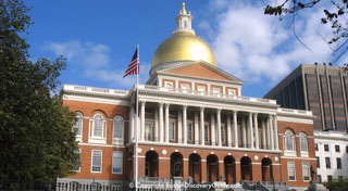 MA State House - Courtesy photo Boston Discovery Guide