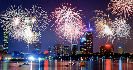 fireworks fourth of july boston - photo courtesy bostoncalendar.com