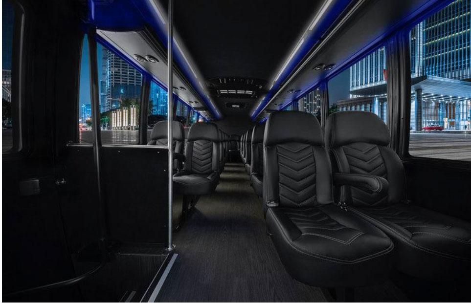 Luxury Limo Bus Interior