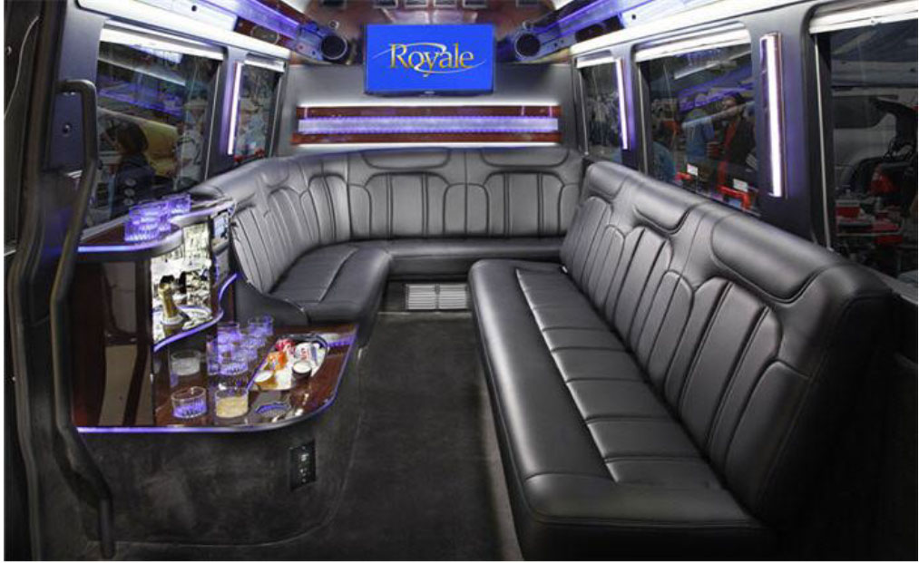 Mercedes Sprinter Limo Coach Interior
