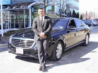 Mark Kini Boston Chauffeur (LCT file photo)
