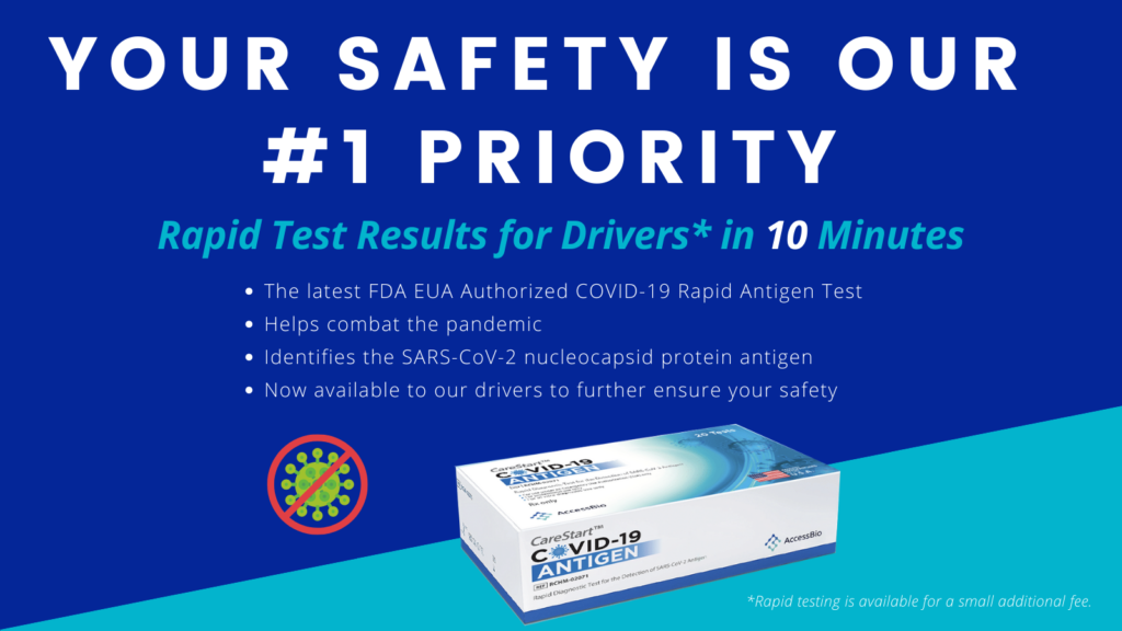 FDA COVID-19 Test for Chauffeurs Now Available